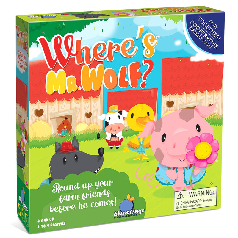 Cooperative Games - Where's Mr. Wolf? Game