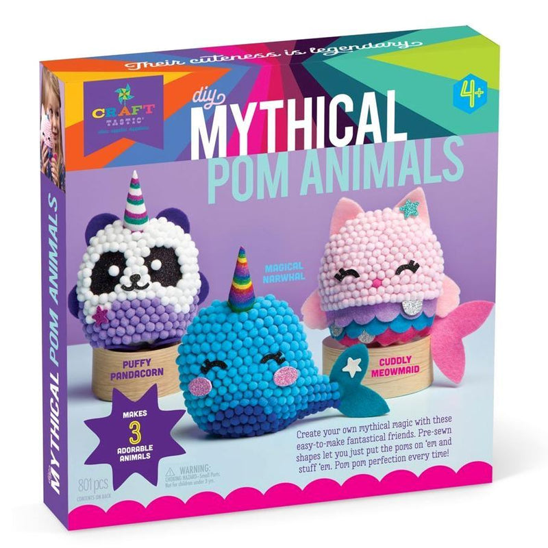 Craft Kits - Craft-tastic Mythical Pom Animals Kit