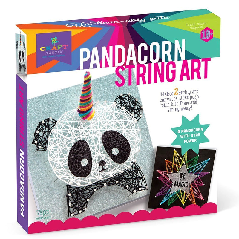 Craft Kits - Craft-tastic Pandacorn String Art Kit