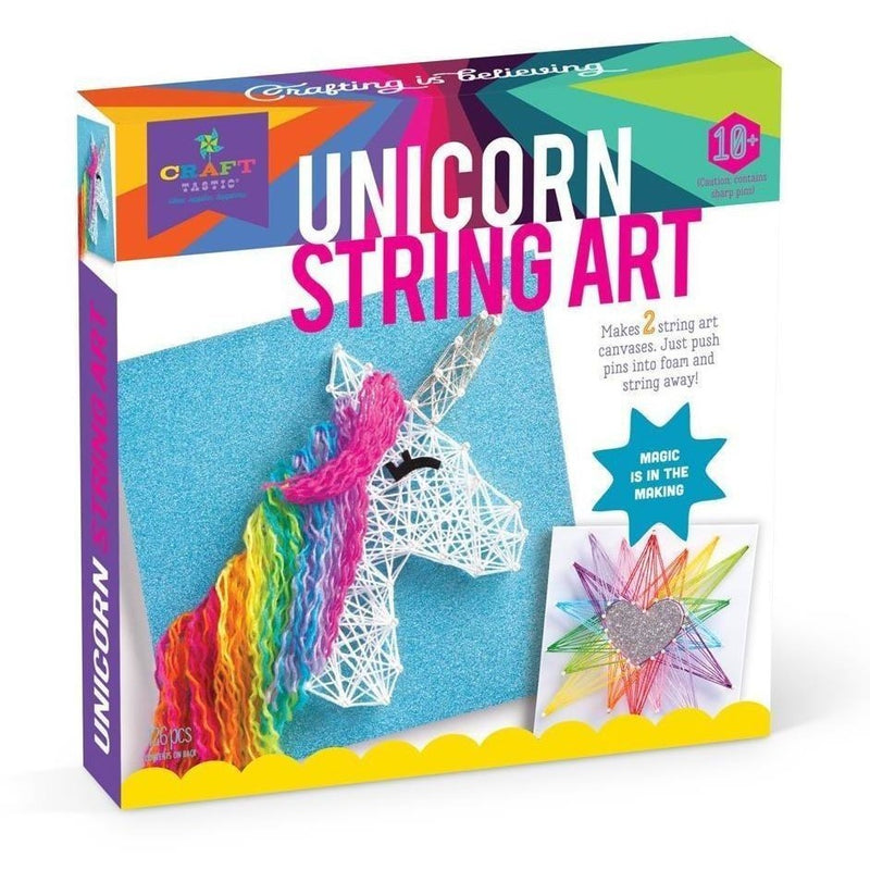 Craft Kits - Craft-tastic Unicorn String Art Kit