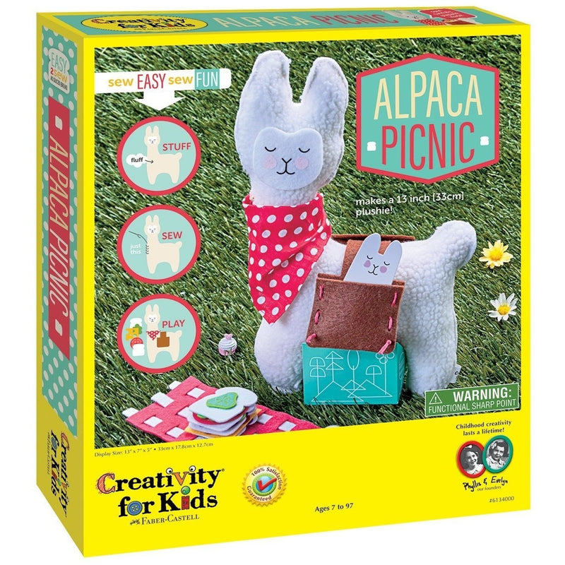 Creativity For Kids Alpaca Picnic - Craft Kits - Anglo Dutch Pools and Toys