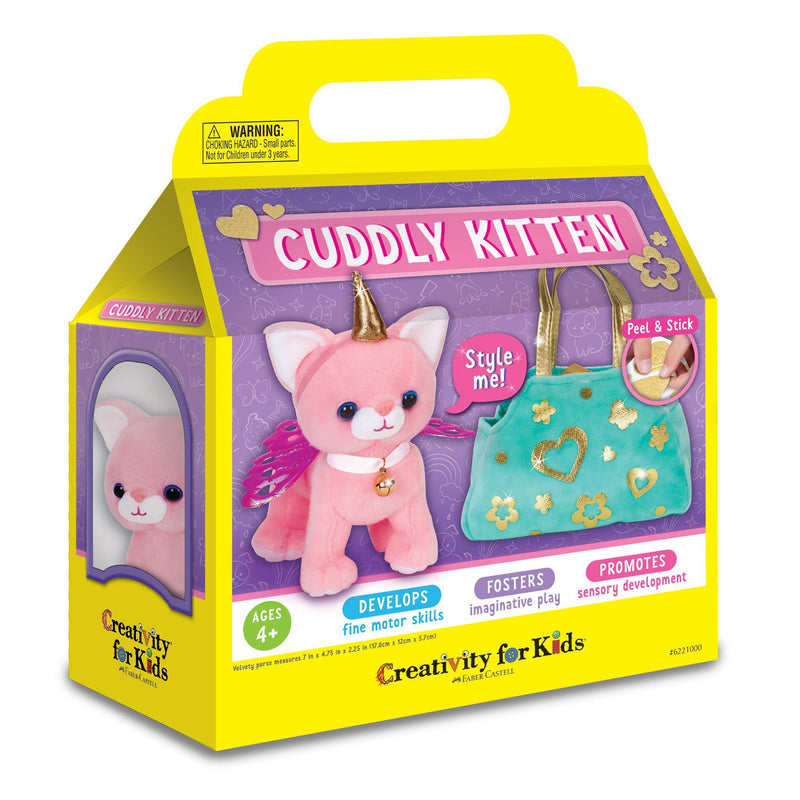 Craft Kits - Creativity For Kids Cuddly Kitten