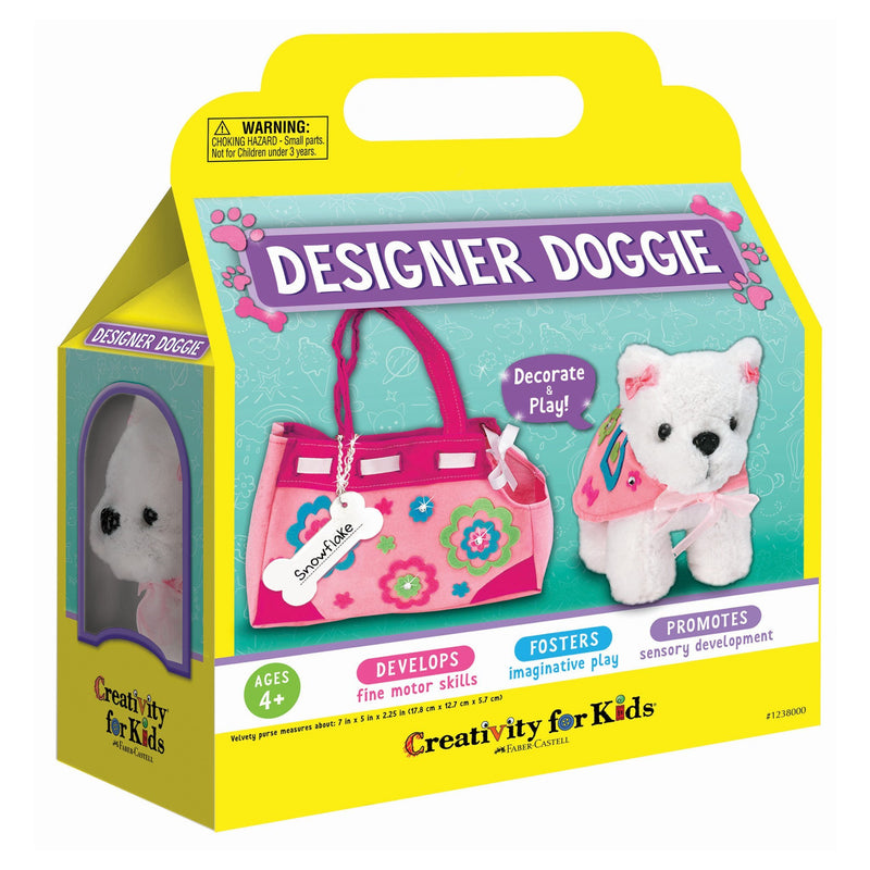 Craft Kits - Creativity For Kids Designer Doggie