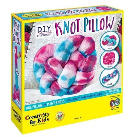 Creativity For Kids DIY Knot Pillow- - Anglo Dutch Pools & Toys  - 1