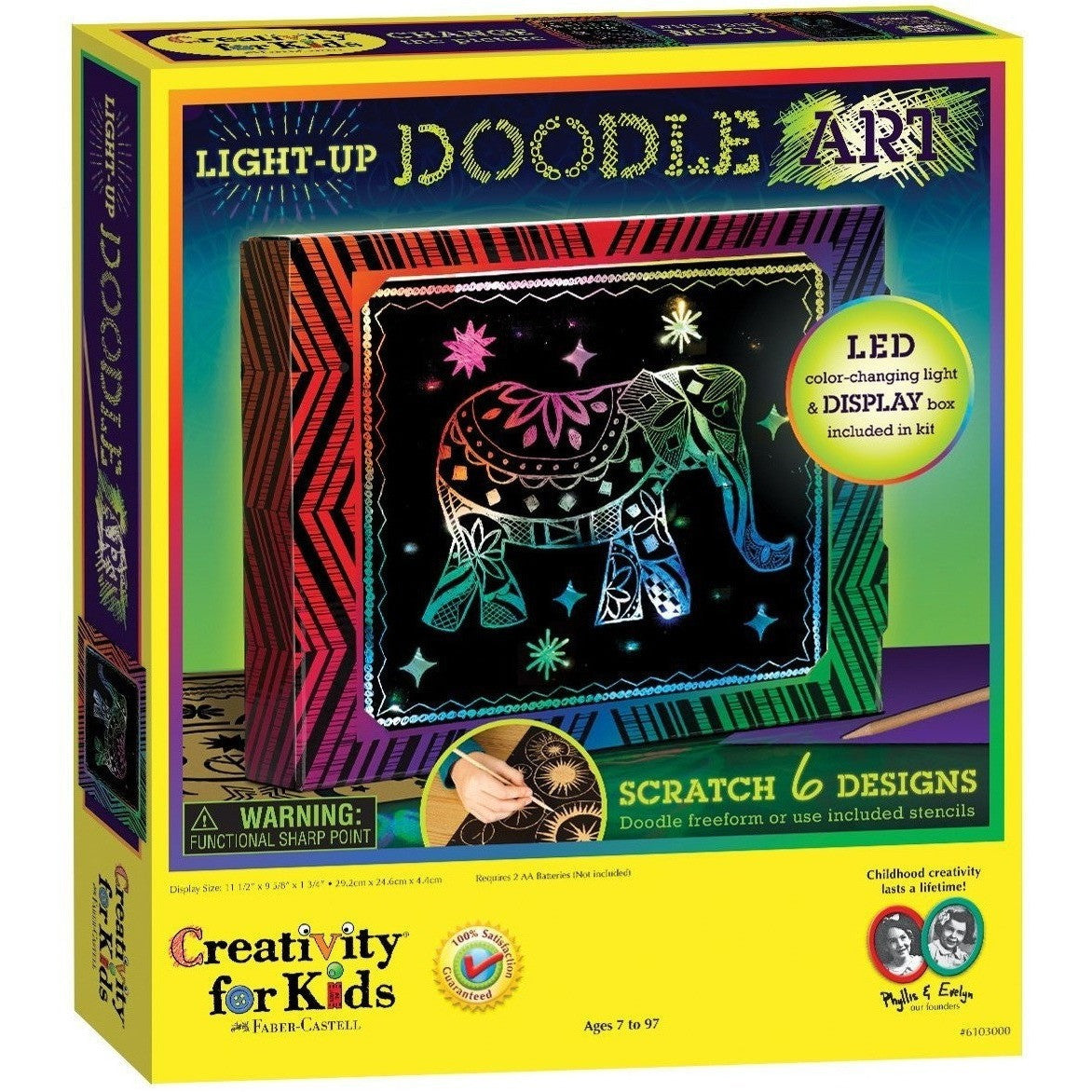Arts and craft kits - Arts And Crafts Kits For Kids Creativity For Kids Light Up Doodle Art Craft Kits