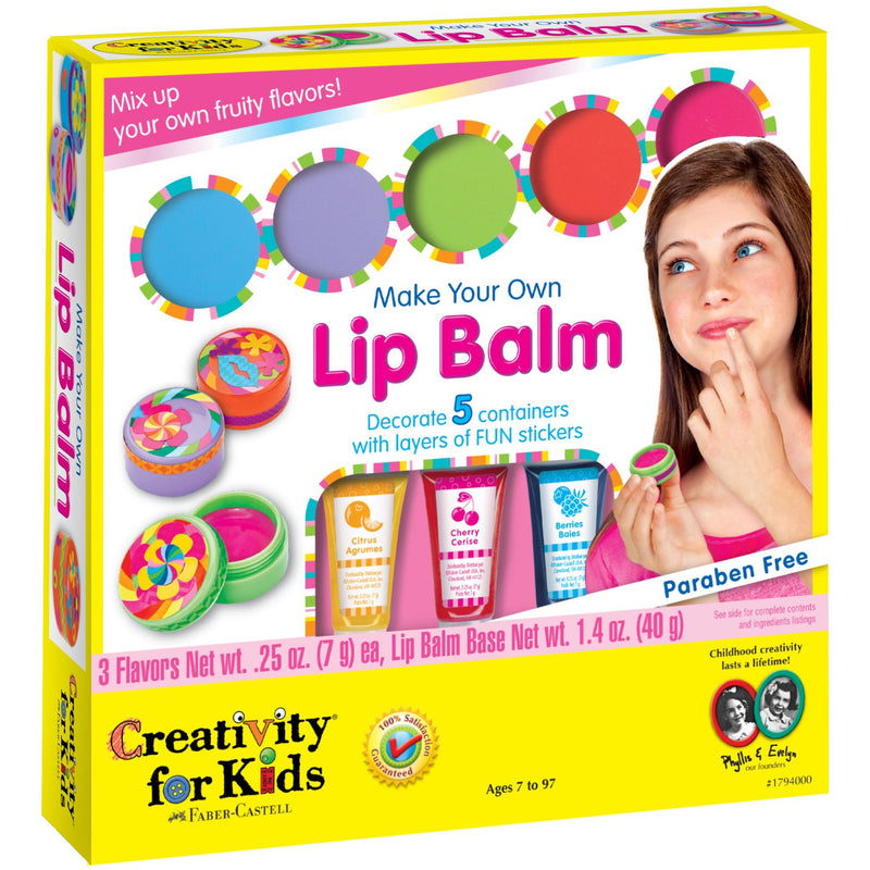 Craft Kits - Creativity For Kids Make Your Own Lip Balm