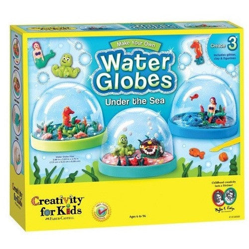 Creativity For Kids Make Your Own Water Globes - Under the Sea- - Anglo Dutch Pools & Toys  - 1