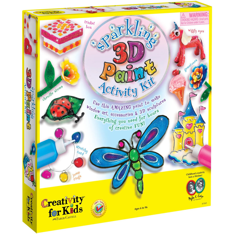 Craft Kits - Creativity For Kids Sparkling 3D Paint Activity Kit