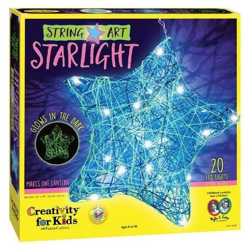 Creativity For Kids String Art Star Light- - Anglo Dutch Pools & Toys  - 1