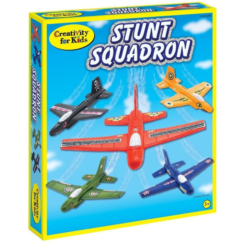 Creativity For Kids Stunt Squadron - Craft Kits - Anglo Dutch Pools and Toys