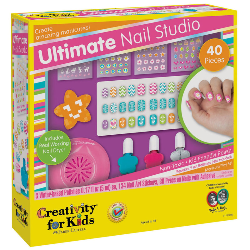 Craft Kits - Creativity For Kids Ultimate Nail Studio