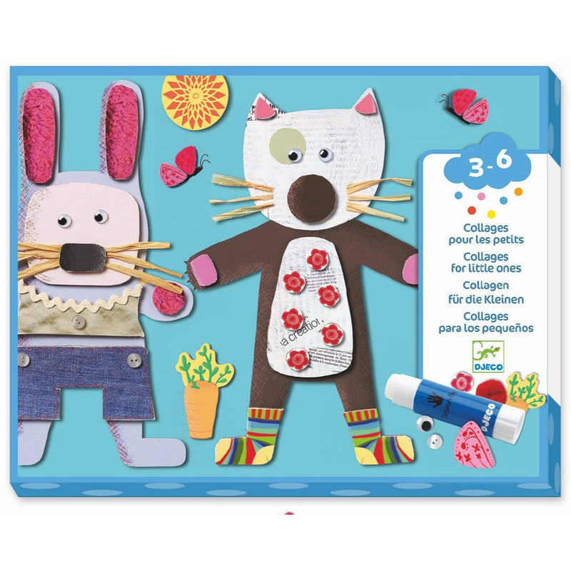 Craft Kits - Djeco Collage For Little Ones