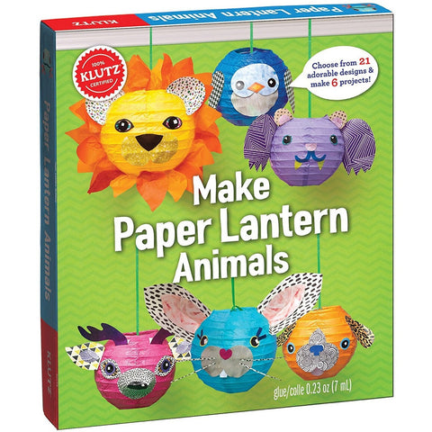 Klutz Make Paper Lanterns Activity Book- - Anglo Dutch Pools & Toys  - 1