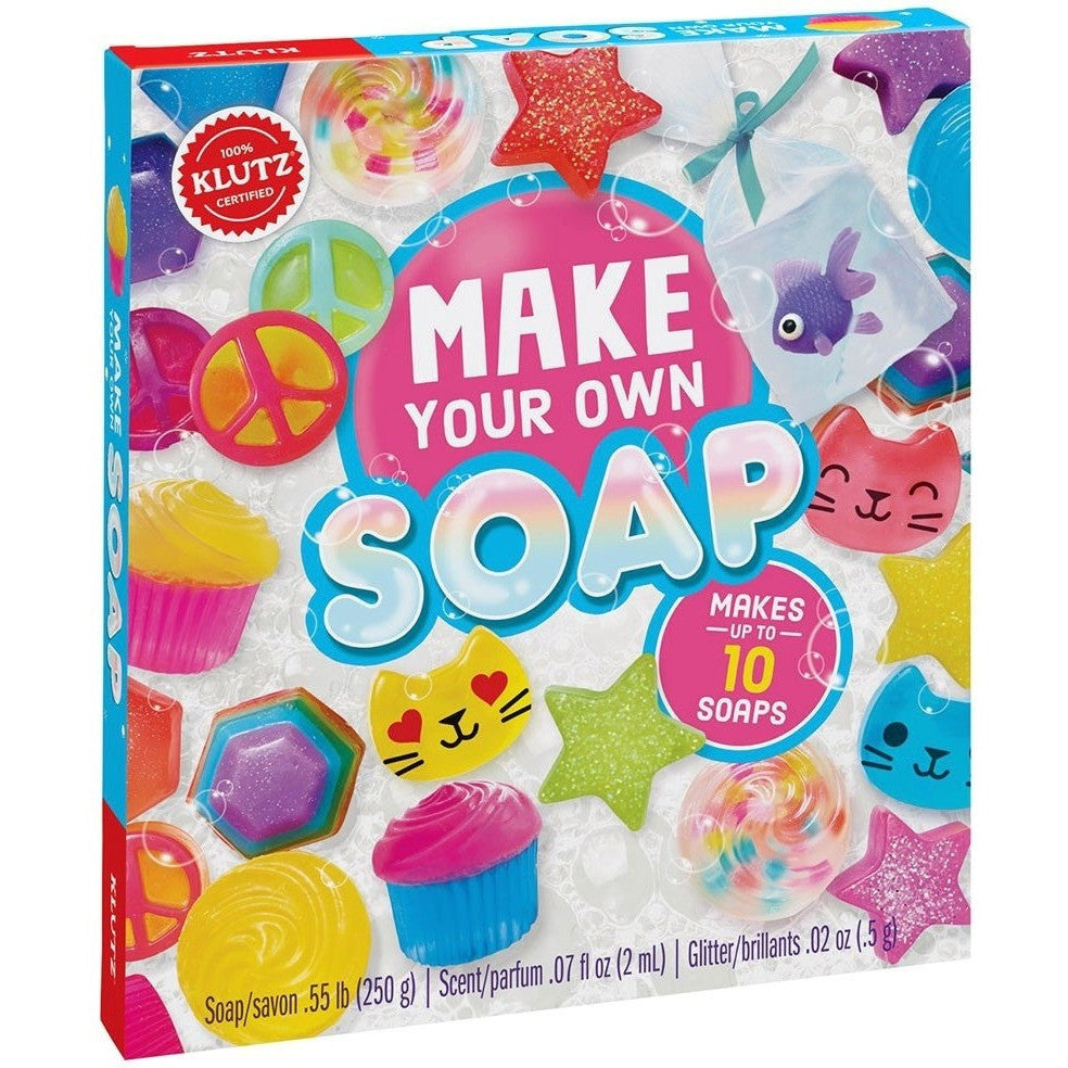 Klutz Make Your Own Soap Kit Craft Kits