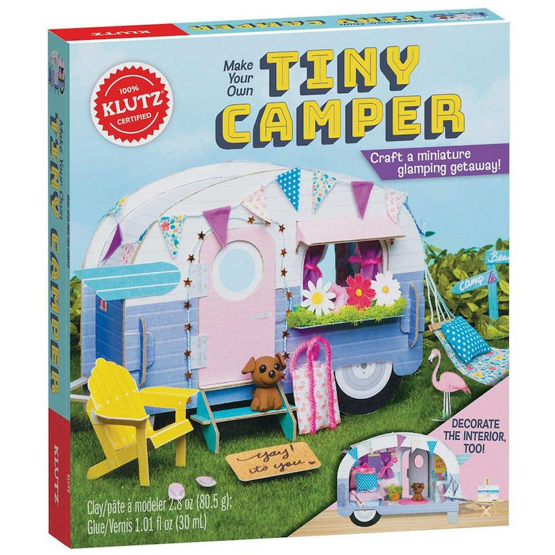 Craft Kits - Klutz Make Your Own Tiny Camper