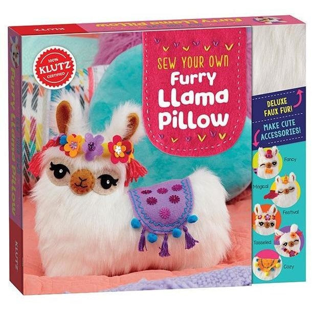 Klutz Sew Your Own Furry Llama Pillow Craft Kits
