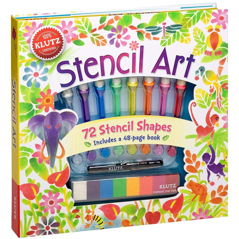 Klutz Stencil Art - Craft Kits - Anglo Dutch Pools and Toys