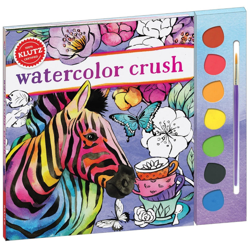 Klutz Watercolor Crush- - Anglo Dutch Pools & Toys  - 1