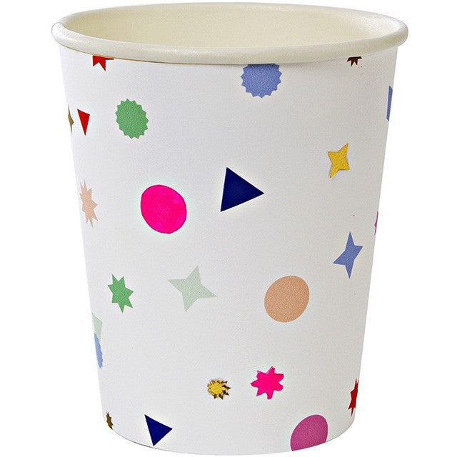 Meri Meri Toot Sweet Charm Pattern Party Cup - Cups and Straws - Anglo Dutch Pools and Toys