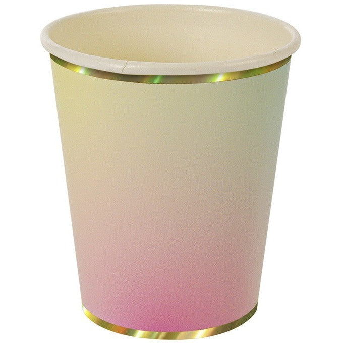 Meri Meri Toot Sweet Ombre Cups - Cups and Straws - Anglo Dutch Pools and Toys