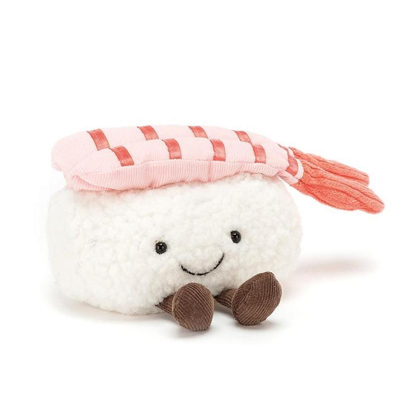 Jellycat Silly Sushi Shrimp Nigiri 4 Cute And Quirky Plush