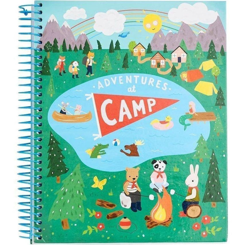 Adventures At Camp Journal - Diaries and Journals - Anglo Dutch Pools and Toys