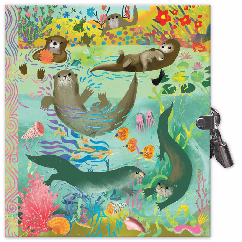 Diaries And Journals - EeBoo Otters Journal