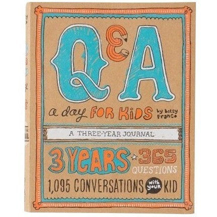 Q&A A Day For Kids: A Three Year Journal - Diaries and Journals - Anglo Dutch Pools and Toys