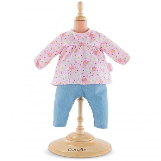 Doll Accessories - Corolle Blouse & Pants For 12-inch Baby Doll