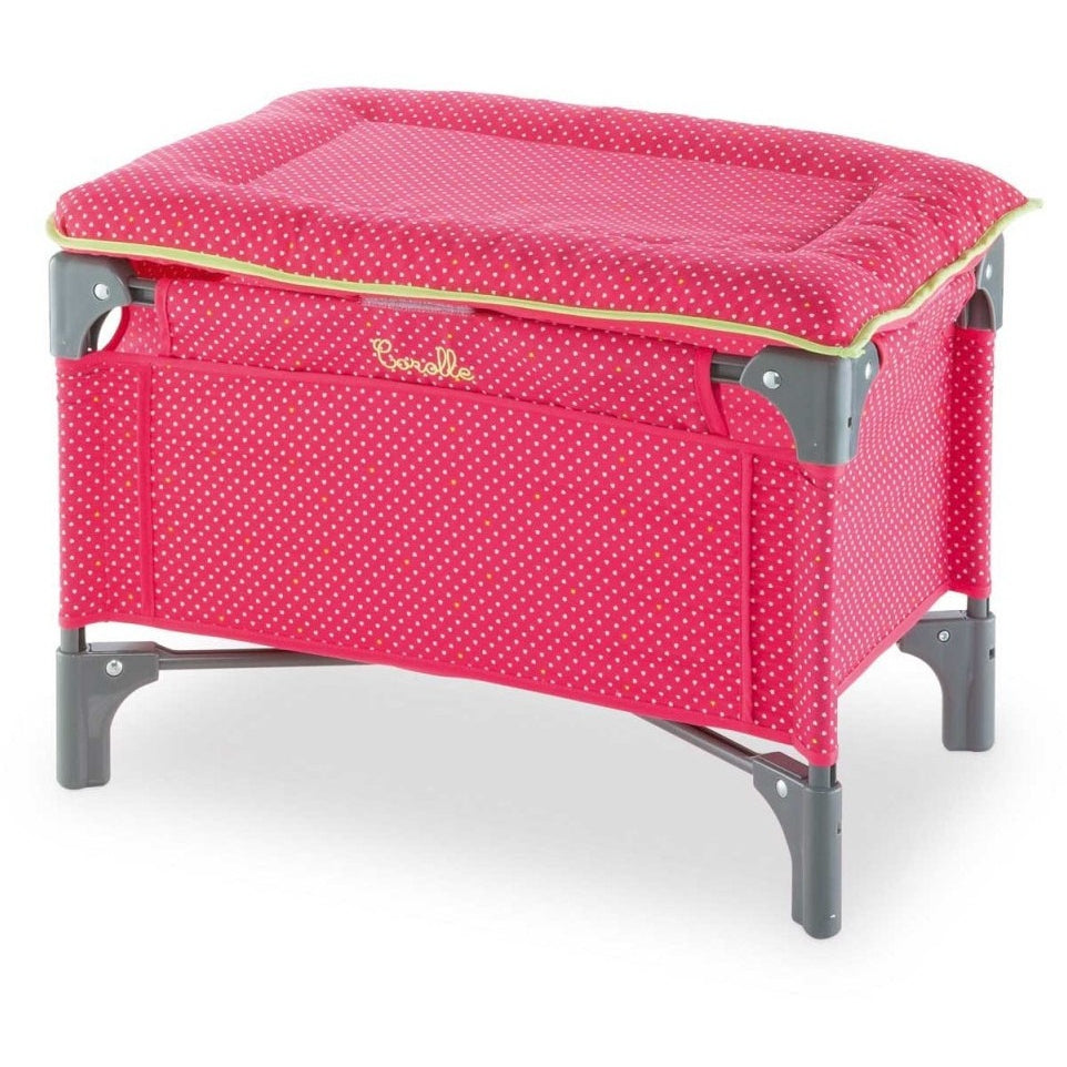 Corolle Mon Classique Doll Cherry Bed U0026 Changing Table
