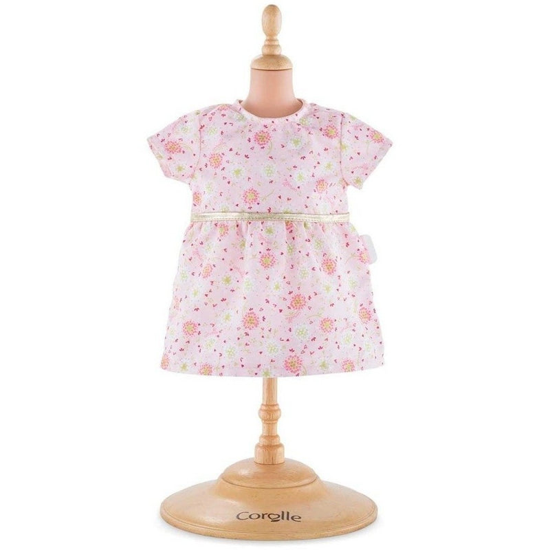 Doll Accessories - Corolle Pink Dress For 14-inch Baby Doll