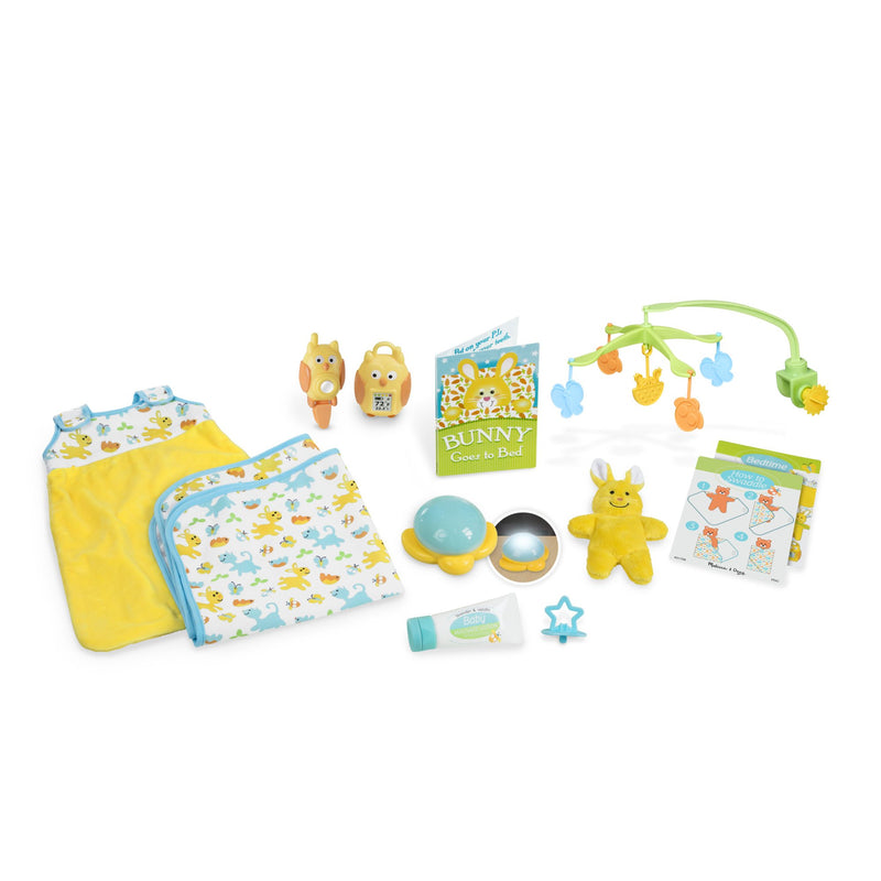 Doll Accessories - Melissa & Doug Mine To Love- Bedtime Play Set