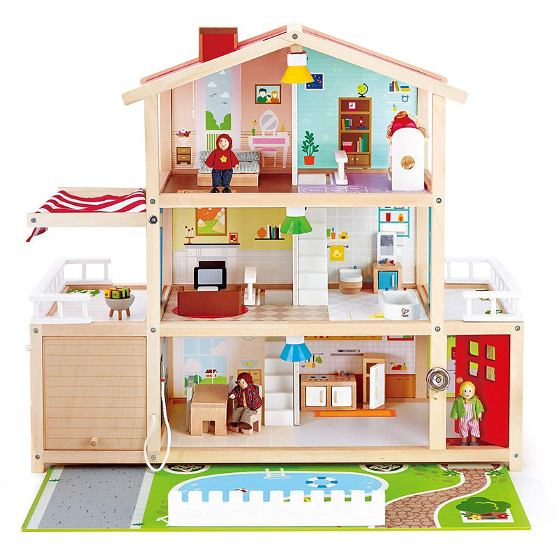 Dollhouses & Furniture - Hape Doll Family Mansion