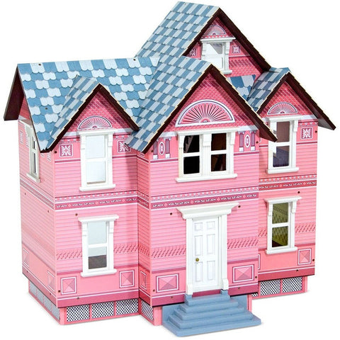 Melissa & Doug Victorian Dollhouse- - Anglo Dutch Pools & Toys  - 1