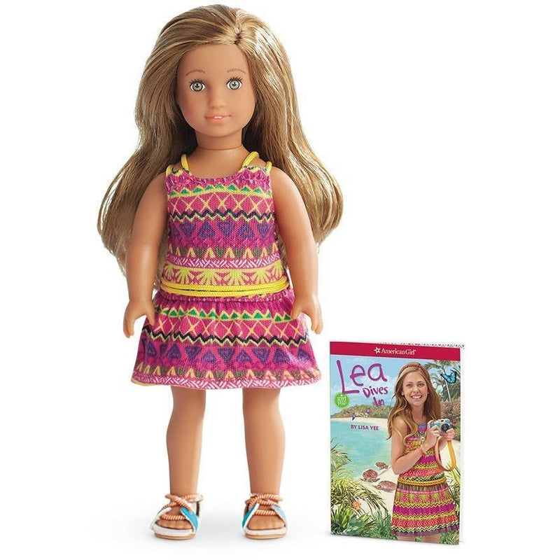 American Girl Lea Mini Doll & Book - Dolls - Anglo Dutch Pools and Toys