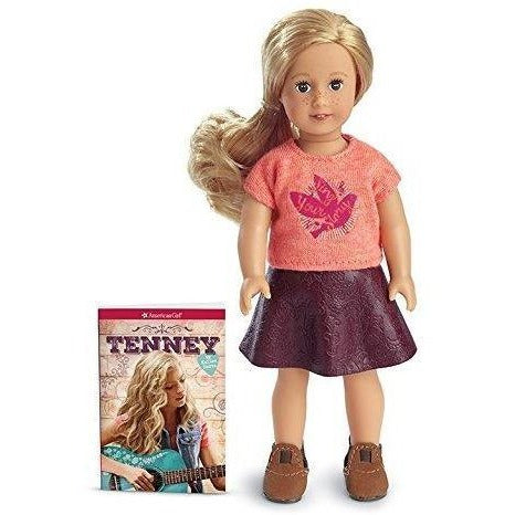 American Girl Tenney Grant Mini Doll & Book