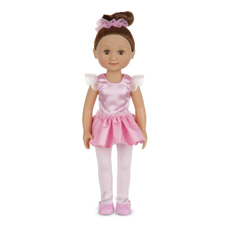 "Dolls - Melissa & Doug Mine To Love - Victoria 14"" Ballerina Doll"