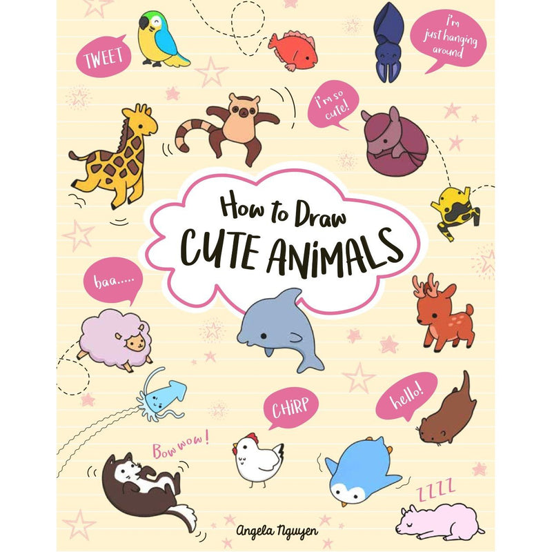 Drawing And Activity Books - How To Draw Cute Animals
