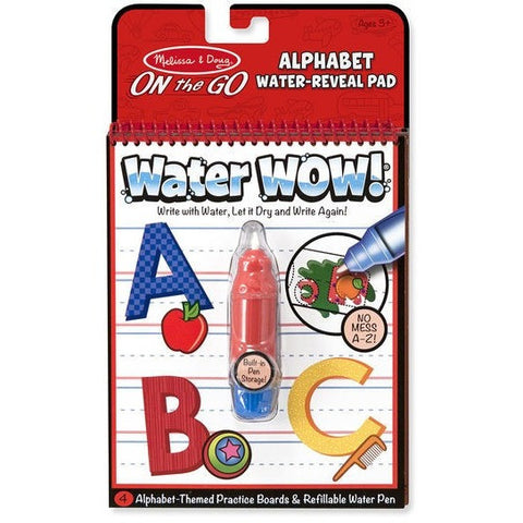 Drawing And Activity Books - Melissa & Doug Alphabet Water WOW!