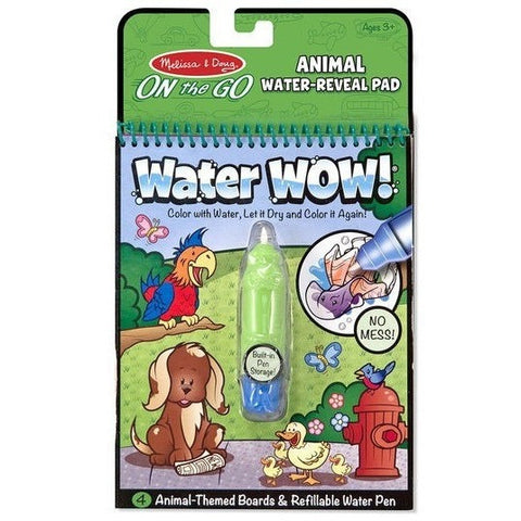 Drawing And Activity Books - Melissa & Doug Animals Water WOW!