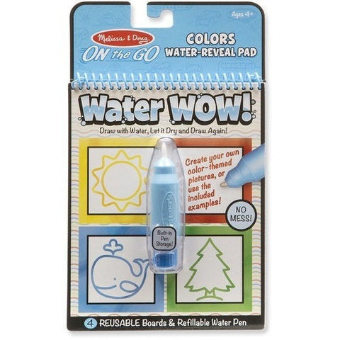 Drawing And Activity Books - Melissa & Doug Colors & Shapes Water WOW!