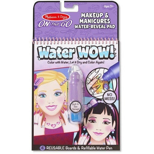 drawing and activity books melissa doug makeup manicures water wow - Melissa And Doug Coloring Book