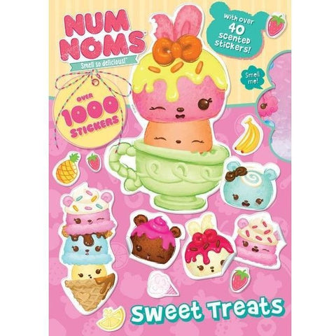 Drawing And Activity Books - Num Noms Sweet Treats Activity Book