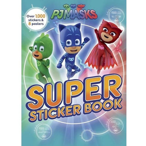 Drawing And Activity Books - PJ Masks Super Sticker Book