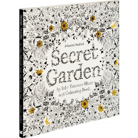 Coloring Book Secret Garden : Secret garden: an inky treasure hunt and coloring book drawing
