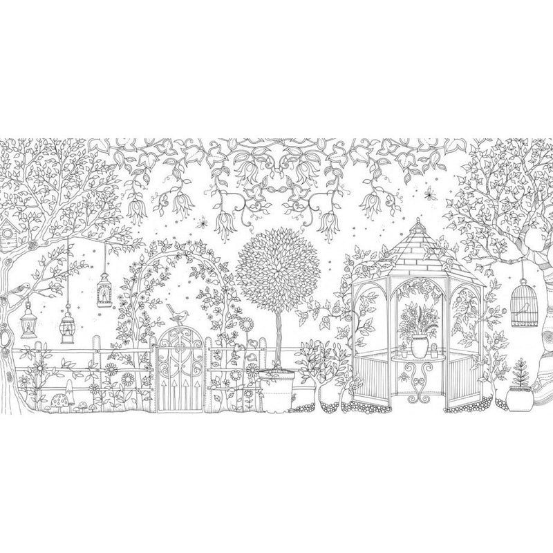 80 Coloring Book Like Secret Garden