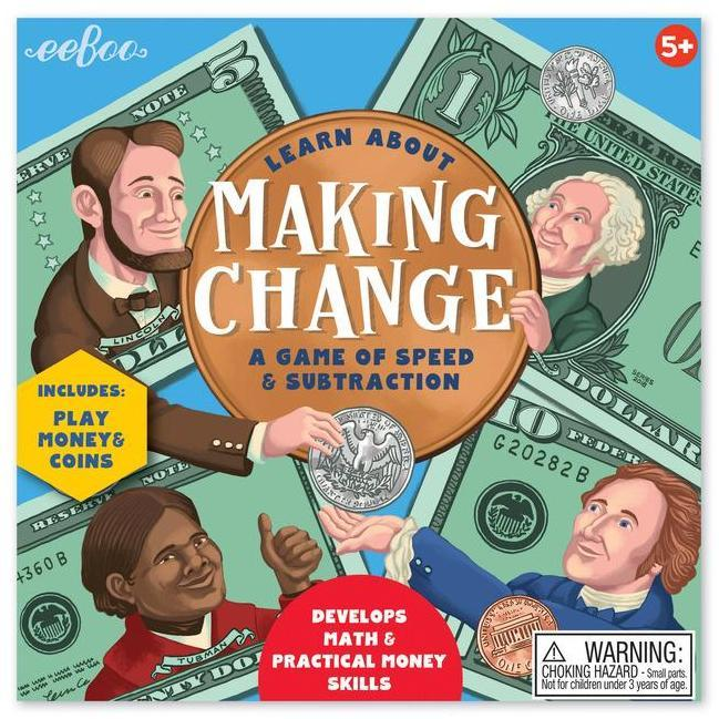 Early Learning - EeBoo Making Change Game