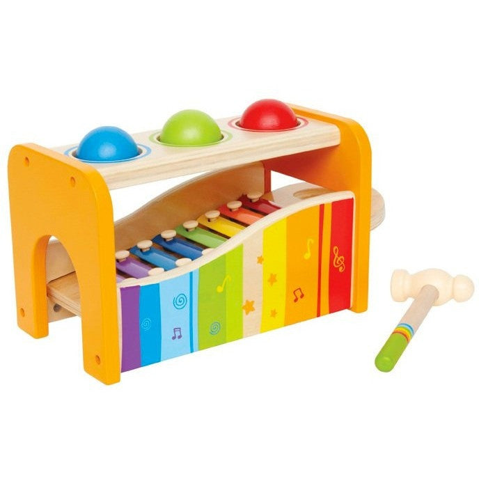 Hape Pound and Tap Bench - Early Learning - Anglo Dutch Pools and Toys