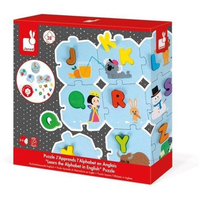 Early Learning - Janod I Learn The Alphabet Puzzle