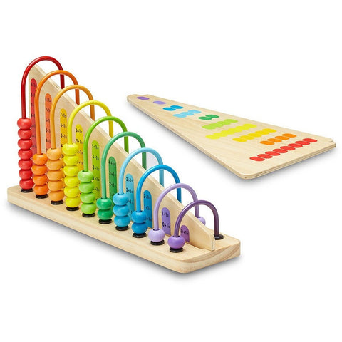 Melissa & Doug Add & Subtract Abacus- - Anglo Dutch Pools & Toys  - 1